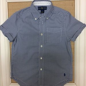 Ralph Lauren boys short sleeve dress shirt